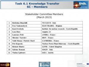Stakeholder Committee Members